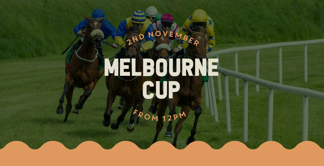 Melbourne Cup Party Promotional Poster
